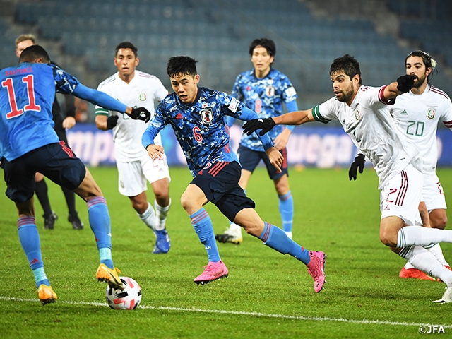SAMURAI BLUE lose to Mexico after conceding two goals in second half