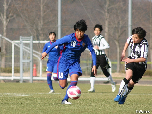 Top 8 teams determined at the 29th All Japan High School Women's Football Championship
