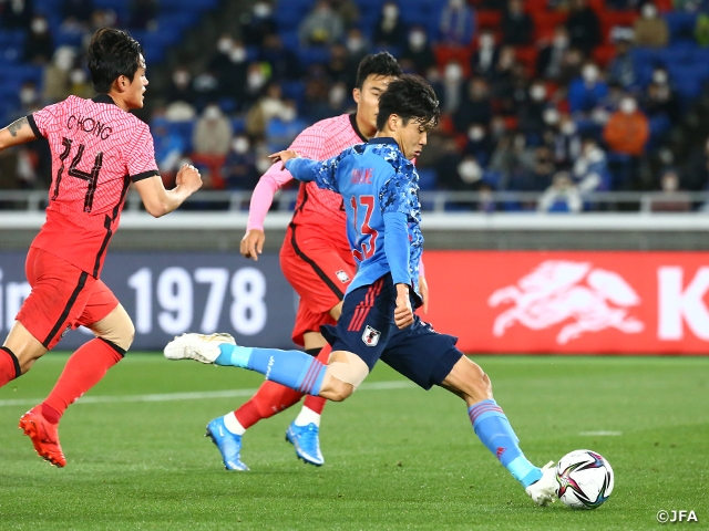 SAMURAI BLUE earns 3-0 victory over Korea Republic – International Friendly Match