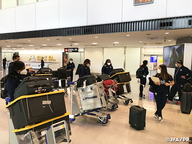 Panama Women's National Team arrive at Japan ahead of International Friendly Match against Nadeshiko Japan【4/11@Japan National Stadium】