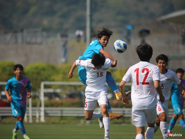Premier League debutant Sagan Tosu claims first win in close match against Higashi Fukuoka at the Prince Takamado Trophy JFA U-18 Football Premier League 2021