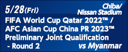 FIFA World Cup Qatar 2022 / AFC Asian Cup China PR 2023 Preliminary Joint Qualification - Round 2 [5/28]